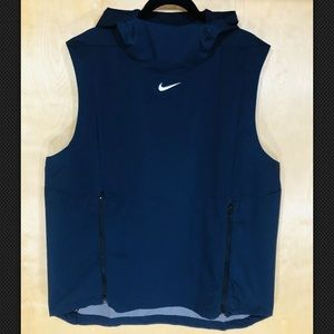 NWT Nike Men's Alpha Fly Rush Vest Hoodie-908420